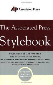 AP Stylebook (Fully Revised & Updated)