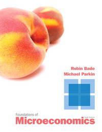 foundations of microeconomics by parkin michael bade robin rh biblio com Factors of Production Microeconomics Macroeconomics Study Guide