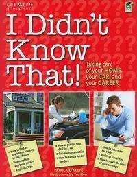 I Didn\'t know that