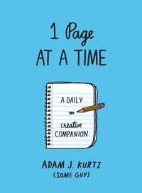 1 Page at a Time (Blue): A Daily Creative Companion