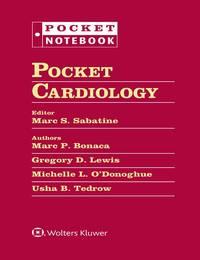 Pocket Cardiology (Pocket Notebook Series)