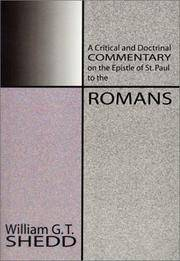 A Critical and Doctrinal Commentary on the Epistle of St. Paul to the Romans