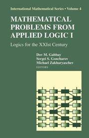 Mathematical Problems From applied Logic I by DOV M GABBAY - Hardcover - from indianaabooks (SKU: 9780387286884OMBooks)