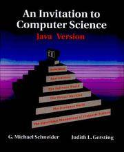 Invitation To Computer Science By G Michael Schneider Judith Gersting