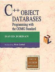 C++ Object Databases: Programming with the ODMG Standard