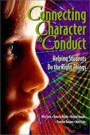 Connecting Character to Conduct