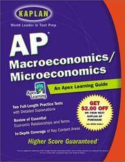 AP Macroeconomics/Microeconomics: An Apex Learning Guide (Kaplan AP...