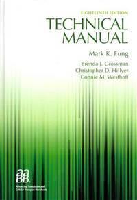 technical manual 18th edition by aabb american association of rh biblio co nz aabb technical manual 18th aabb technical manual 19th