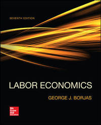 Labor Economics by  George Borjas - Hardcover - 2015-01-14 - from BooksorDVDs (SKU: 200922010)