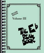 image of THE REAL BOOK - VOLUME 3 (E FLAT EDITION) (Real Books (Hal Leonard))