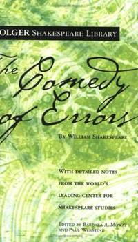 The Comedy of Errors (Folger Shakespeare Library) by  William Shakespeare - Paperback - from Russell Books Ltd and Biblio.com