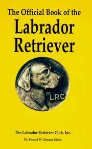 The Official Book of the Labrador Retriever
