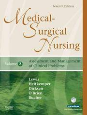 Medical-Surgical Nursing Set : Assessment and Management of Clinical Problems by  Sharon Mantik Lewis  - Hardcover  - from Better World Books  (SKU: 8445777-75)