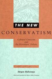 The New Conservatism