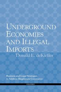 Underground Economies and Illegal Imports: Legal and Business Strategies to Address Illegitimate...