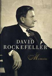image of David Rockefeller: Memoirs