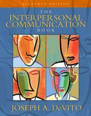 image of Interpersonal Communication Book, The (11th Edition)