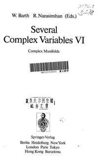 Several Complex Variables VI: Complex Manifolds (Encyclopaedia of Mathematical Sciences)