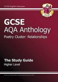 GCSE AQA Anthology Poetry Study Guide (Relationships) Higher