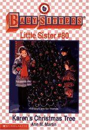 image of Karen's Christmas Tree : The Baby-Sitters Little Sister #80