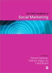 SAGE Handbook of Social Marketing