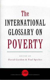 The International Glossary On Poverty