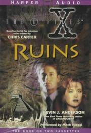 The X-Files: Ruins (2 Audio Cassettes)
