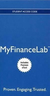 NEW MyLab Finance with Pearson eText -- Access Card -- for Fundamentals of Corporate Finance