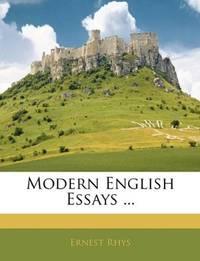 Modern English Essays