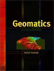 Geomatics by  Barry Kavanagh - Hardcover - 2002-04-18 - from BooksEntirely (SKU: 632248)