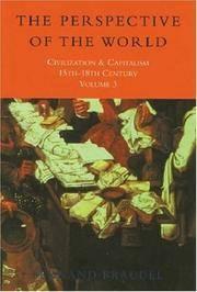 image of Civilization and Capitalism, 15th-18th Century: Vol 3 (Civilisation_Capitalism)