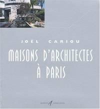 MAISONS D'ARCHITECTES · PARIS T06