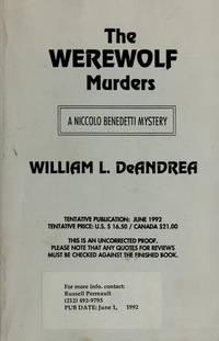 Werewolf Murders, The