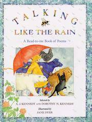 Talking Like the Rain: A Read-to-Me Book of Poems