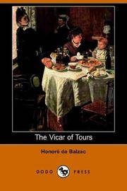 image of The Vicar of Tours (Dodo Press)