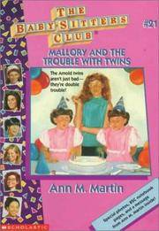 image of Mallory And The Trouble With Twins (Baby-Sitters Club: Collector's Edition #21)