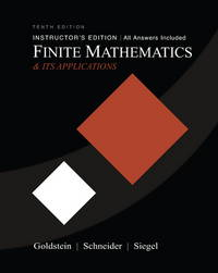 image of Finite Mathematics & Its Applications (10th Edition)