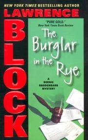 image of The Burglar in the Rye (Bernie Rhodenbarr)