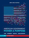 image of American Government: Power and Purpose (Brief Twelfth Edition, 2012 Election Update)