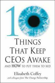 10 Things That Keep Ceos Awake: An How to Put Them to Bed