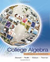 image of College Algebra: Concepts and Contexts