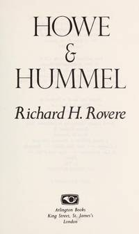 Howe & Hummel: Their True and Scandalous History
