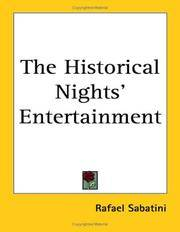 image of The Historical Nights' Entertainment