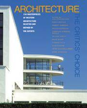 Architecture, 150 Masterpieces of Western Architecture  Selected and Defined By  the Experts