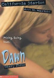Dawn, Diary Three (California Diaries)