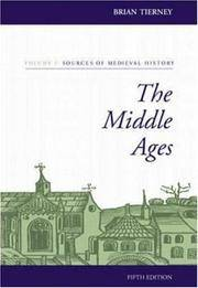 The Middle Ages (two vols.): Volume I: Sources of Medieval History; Volume II: Readings in Medieval History
