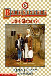 Karen's Pilgrim (Baby-Sitters Little Sister, No. 91) by Ann M. Martin - Paperback - 1997-11-01 - from Ergodebooks (SKU: SONG0590065890)