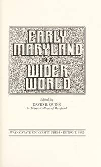 Early Maryland in a Wider World