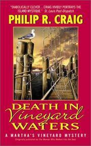 Death in Vineyard Waters : A Martha's Vineyard Mystery