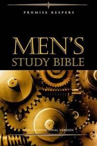 NIV Promise Keepers Men's Study Bible - Black Bonded Leather